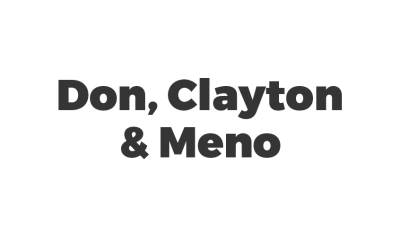 Don, Clayton & Meno